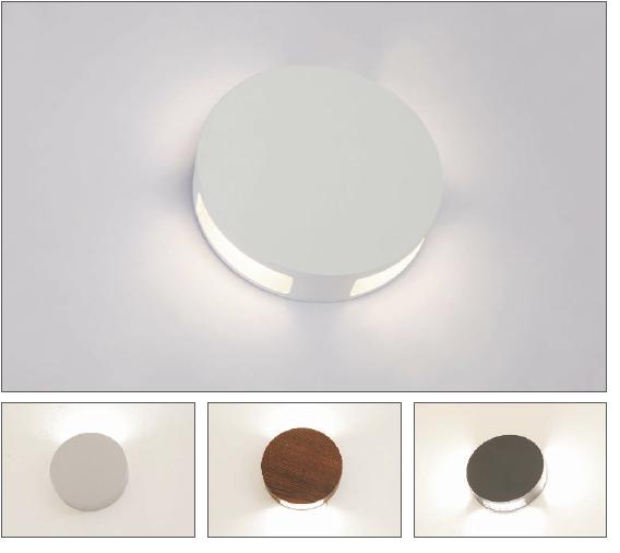 圆形铸铝顶盖,全铝合金结构,粉末喷涂表面处理,适宜用于室内室外立面.